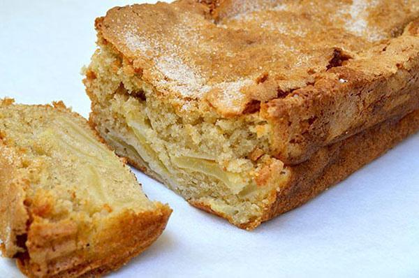 пышный пирог с яблоками рецепт мультиварка