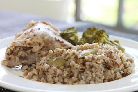 рецепт из курицы с гречкой в мультиварке