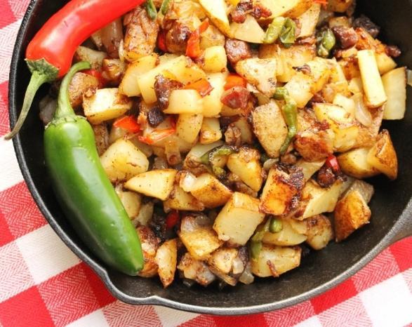 вареная картошка со шкварками рецепт с фото отправилась учиться