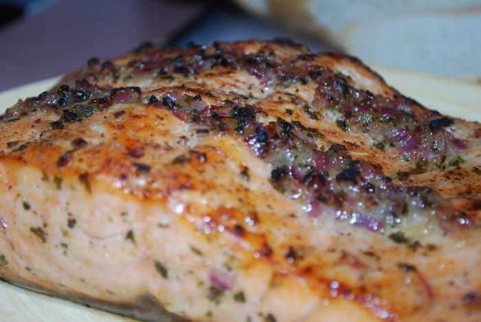 рецепт сочной горбуши в духовке