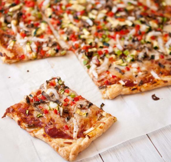 Дрожжевое тесто для пиццы пицца из