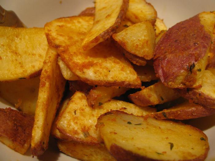 рецепты картошки в духовке фото