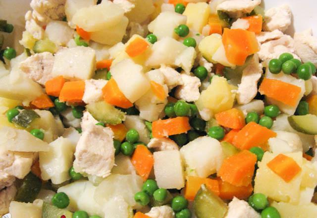рецепт блюда с мясом курицы