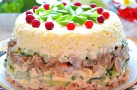 Слоеные салаты рецепт с фото