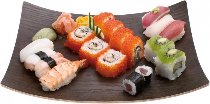 разница между суши и роллами