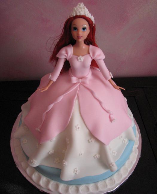 торт из куклы с фото пошаговым рецептом