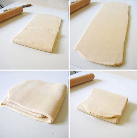 как сделать слоеное тесто дома