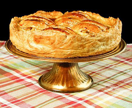 рецепт пирога со слоеным тестом