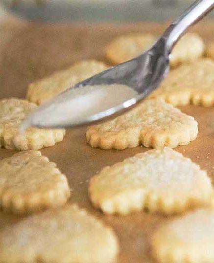печенье на маргарине и сметане
