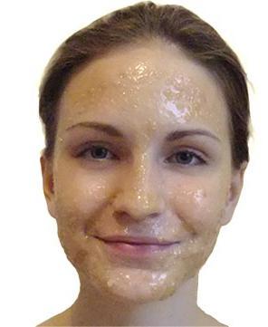 маска с медом для глаз