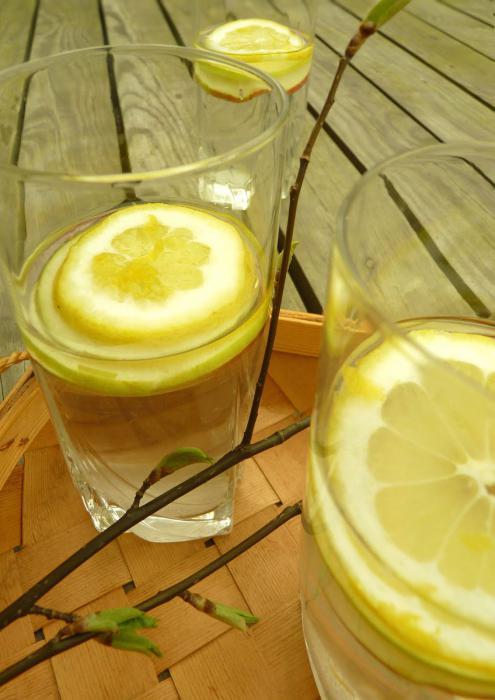 березовый сок рецепты с лимоном и апельсином
