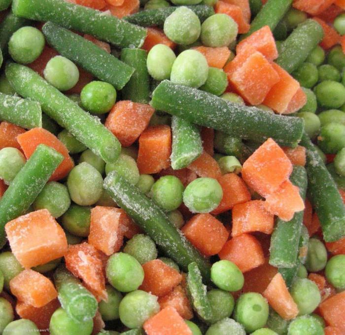 как приготовить замороженную овощную смесь