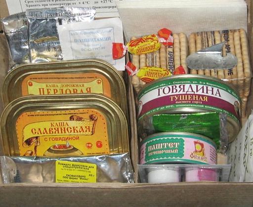 сухой паек украина