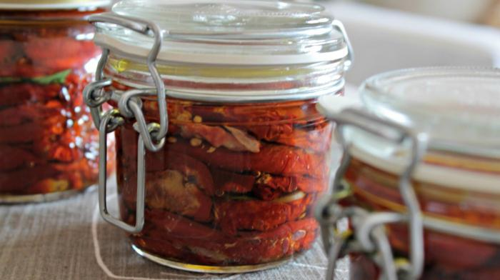 сушеные помидоры в масле