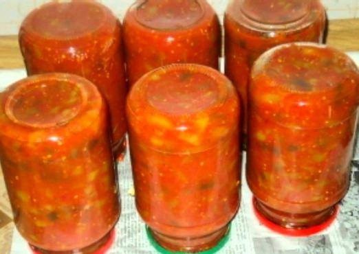 Салат 5 ингредиентов на зиму
