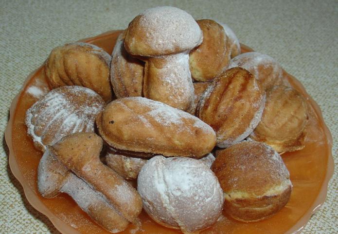 печенье грибочки в формочке