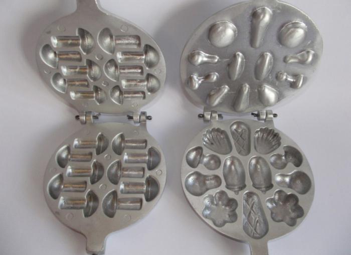 рецепт с фото печенье грибочки из формочки