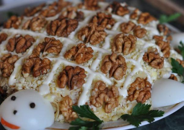 салаты рецепты необычных салатов