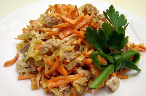 Салат с фасолью   Vpuzocom