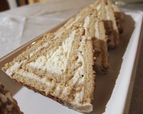 вкусные торты без выпечки из печенья творога рецепты