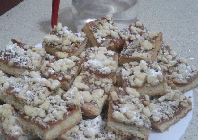 тертый пирог из песочного теста