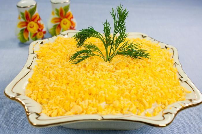 салат шуба со шпротами
