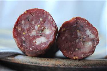колбаса сыровяленая рецепт