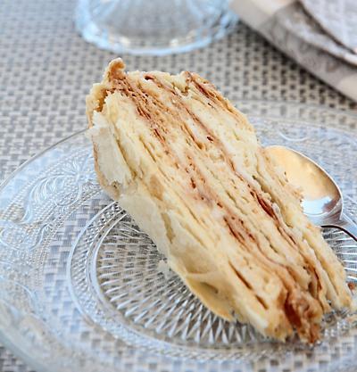 торт степка растрепка со сгущенкой
