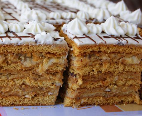 стёпка кучерявый торт рецепт