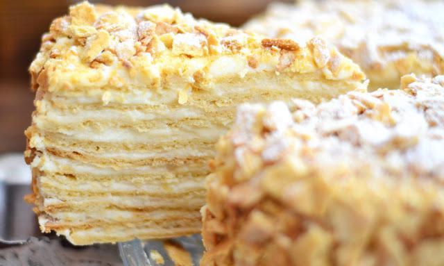 рецепт торта степка растрепка пошагово