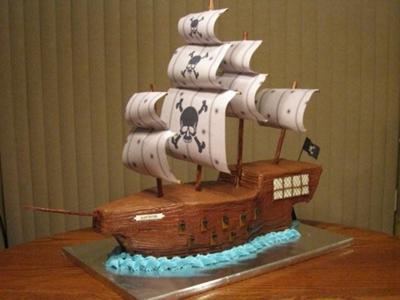 торт корабль рецепт