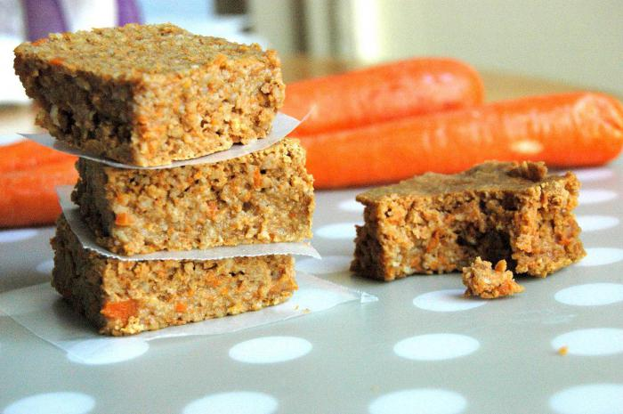 морковный пирог постный