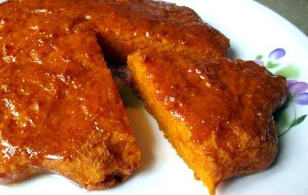 простой морковный пирог