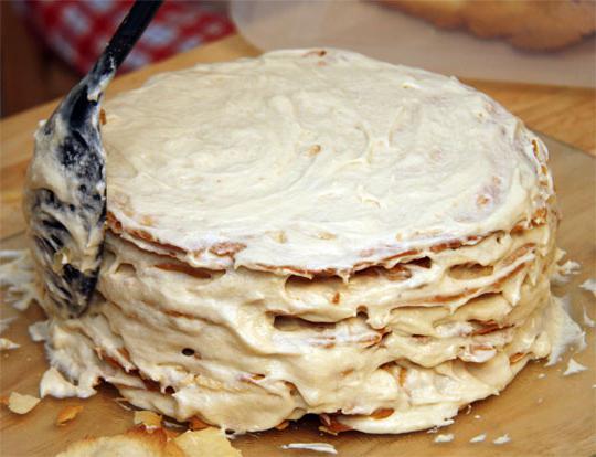 домашние торты с заварным кремом