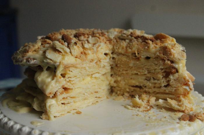 торт наполеон рецепт заварной крем
