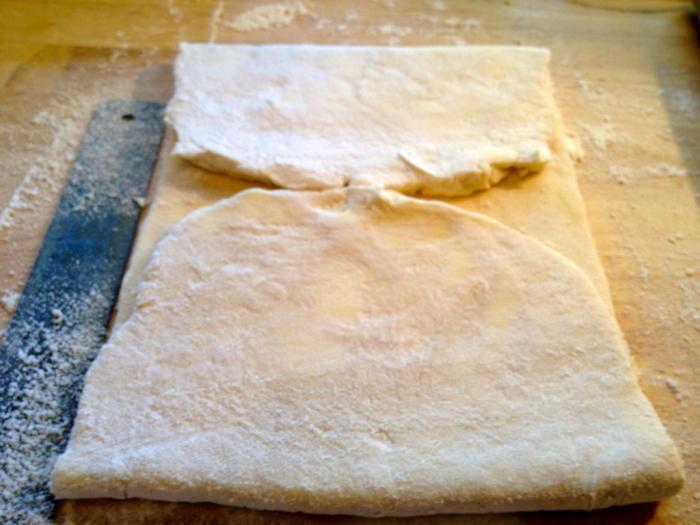 домашнее слоеное тесто быстрого приготовления
