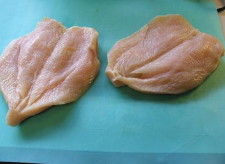 рулетики из куриного филе с начинкой из грибов