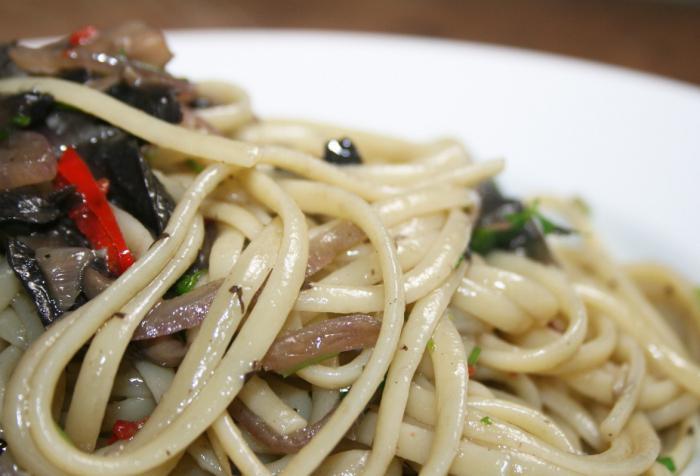 рецепт итальянской пасты в домашних условиях с грибами