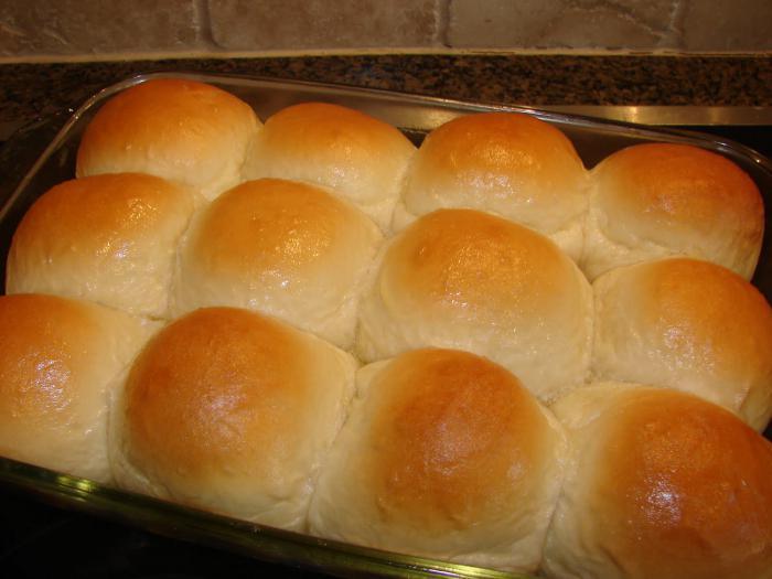 как испечь булочки в духовке рецепт