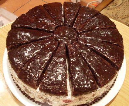 Пошаговый рецепт торта африканская ромашка