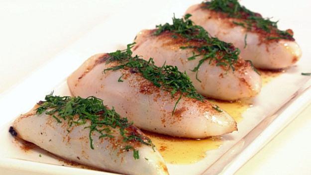 Постные блюда кальмары рецепты с фото