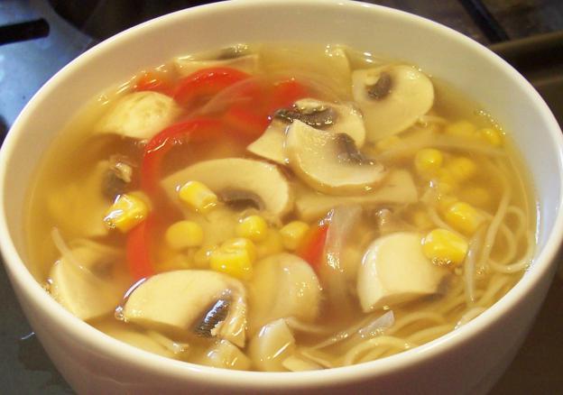Приготовить суп из шампиньонов с вермишелью рецепт пошаговый с