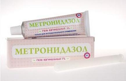 метронидазол свечи применение