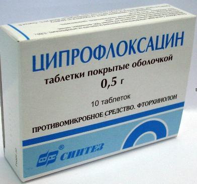 Продукт «Ципрофлоксацин»: антибиотик либо нет? Раствор, уколы…