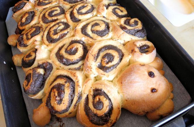 пироги с маком из дрожжевого теста