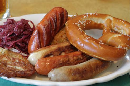 Национальные немецкие блюда