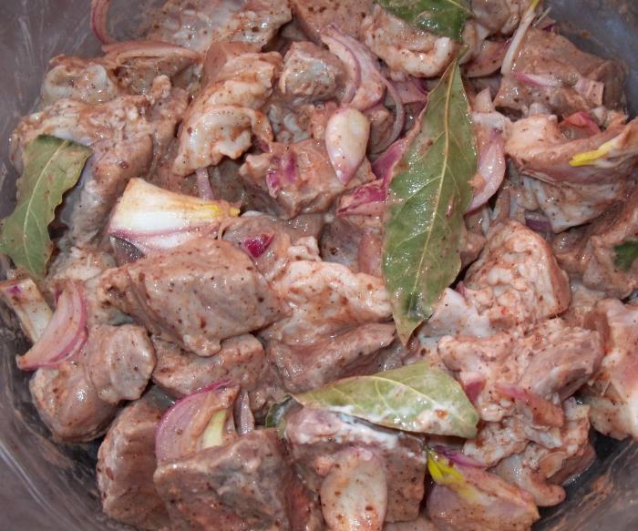 как быстро замариновать шашлык из свинины