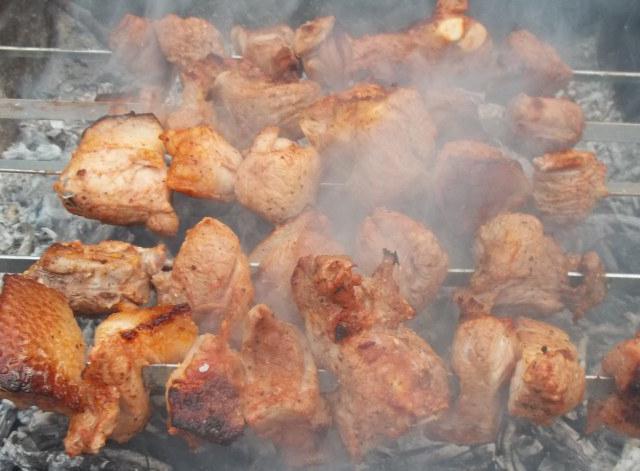 быстрый способ замариновать шашлык из свинины