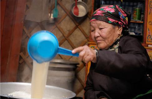 как приготовить калмыкский чай