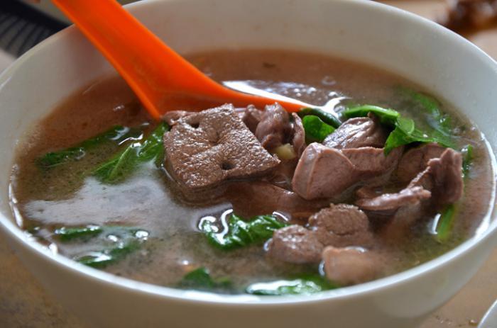 как сварить суп из куриной печени